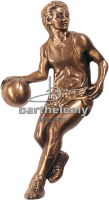 Basketballspieler Bronze